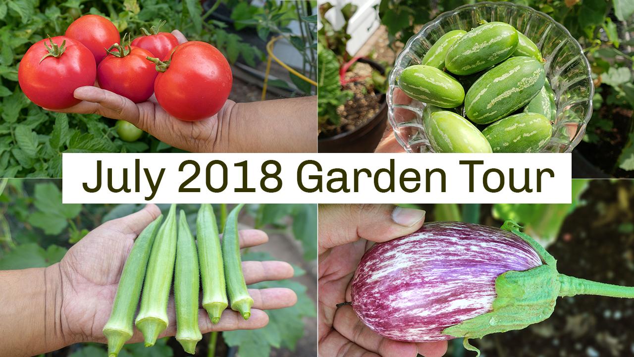 California Gardening Tour July 2018