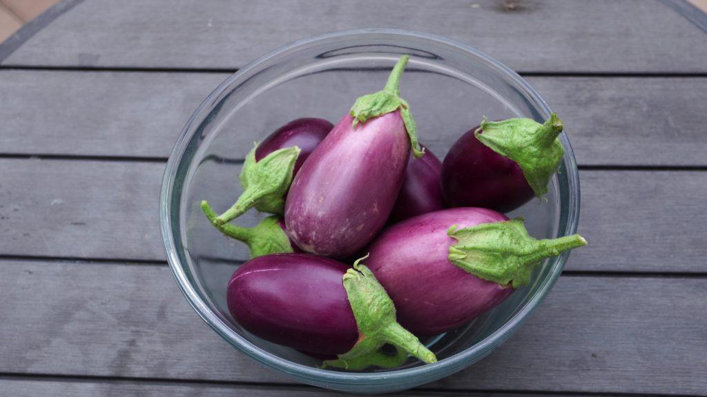 Eggplants (Amethyst variety)