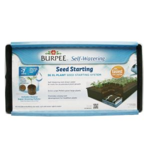 Burpee 36 cell XL Self Watering Seed Starting Kit