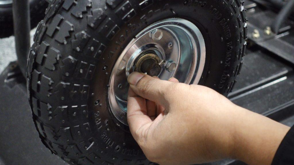 Gorilla Garden Cart Tire Replacement