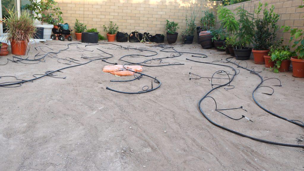 Drip Irrigation system setup