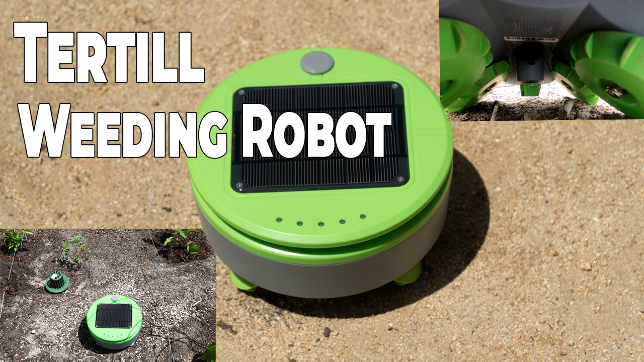 Tertill Weeding Robot – Keep Garden Weeds in check with Tertill – From the Creator of Roomba!