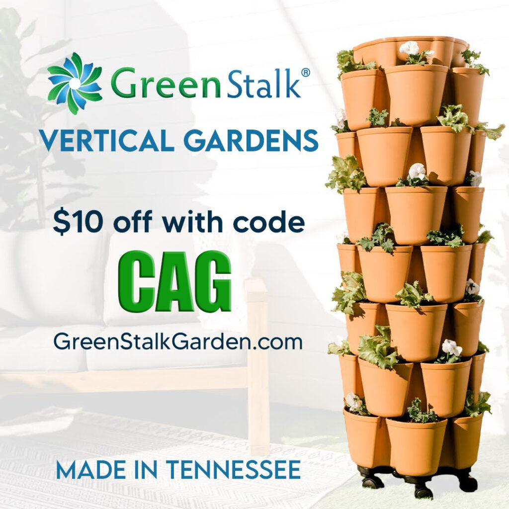GreenStalk planter -Use coupon code cag