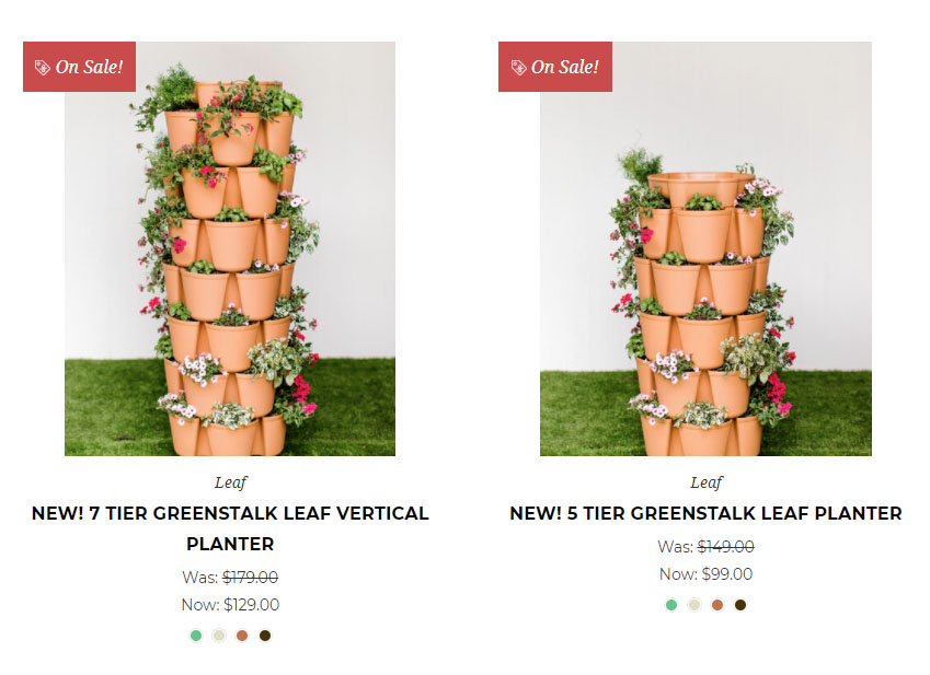 Greenstalk planter comparison